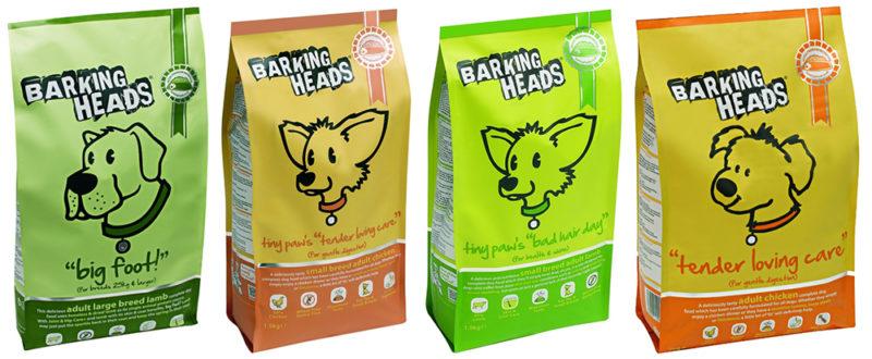 Корма для собак Barking Heads