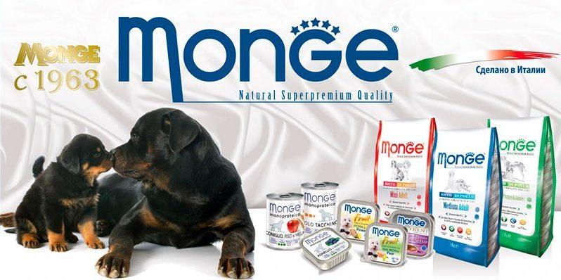 Корм для собак Monge