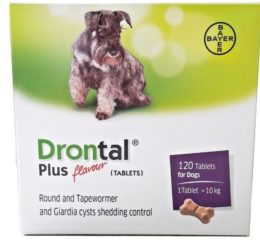 Дронтал Плюс - безопасный препарат против глистов