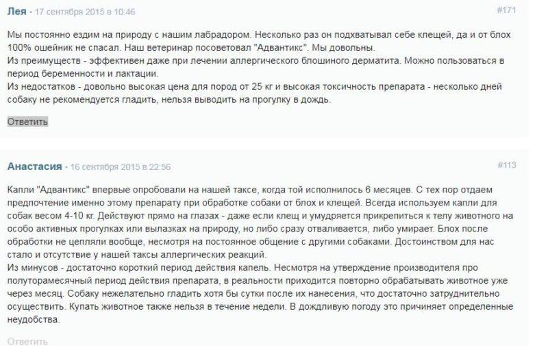 отзыв с форума